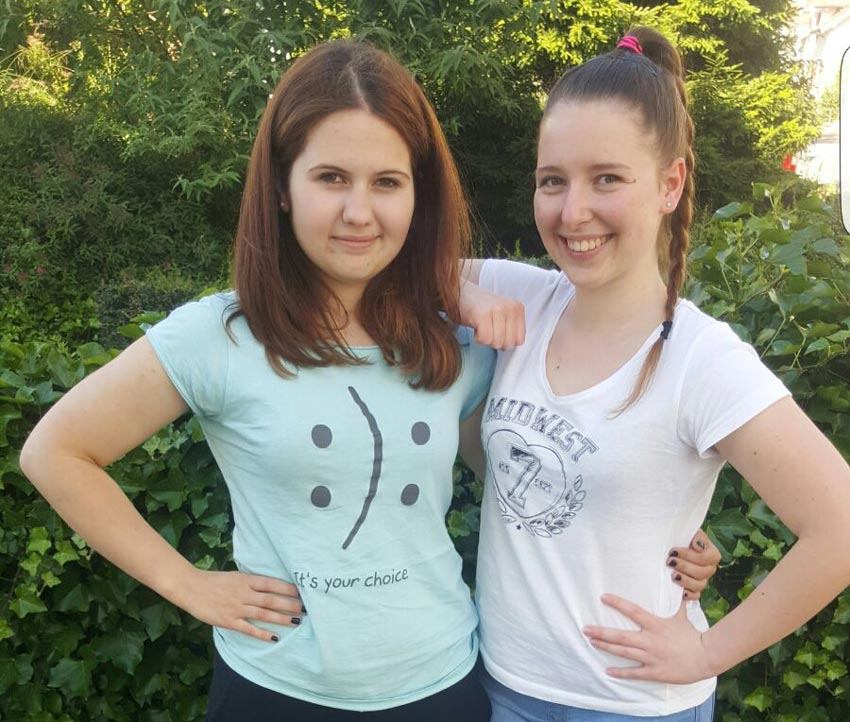 Jasmina Dulkanovic und Jelena Miletic