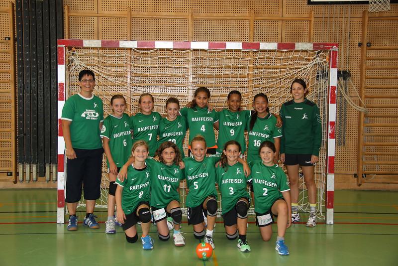 U13-1 Teamfoto 2013